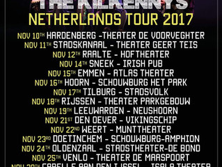 The KilkennysNetherlands Tour Dates 2017