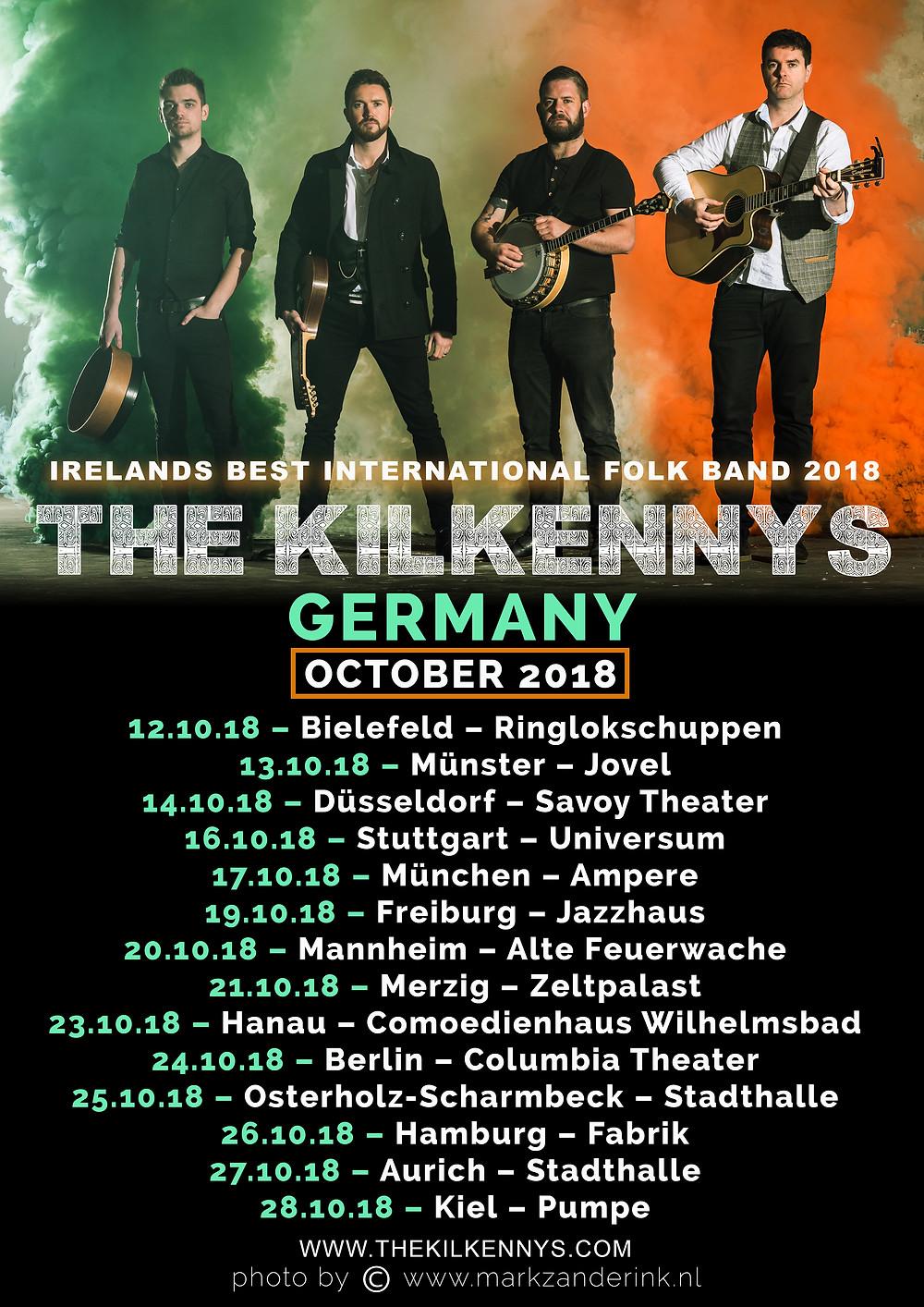 The Kilkennys Germany 2018 - Irelands Best International Folk Group