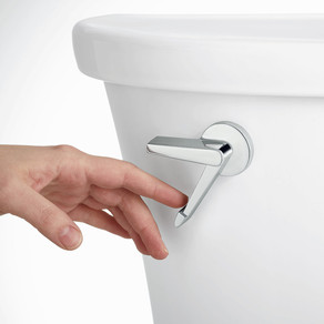 Toilets get slippery makeover