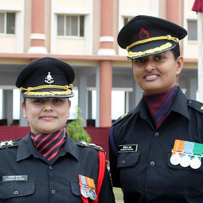 A win for women in India's military
