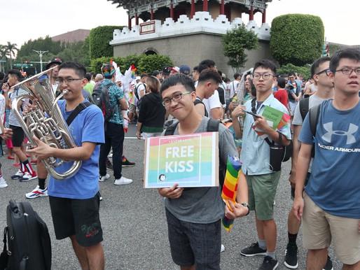 Taiwan Pride celebrates marriage vote