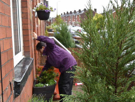 Greener front gardens reduce stress