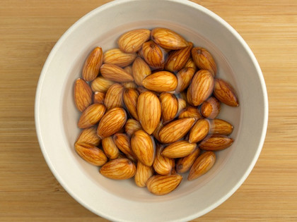 Soak nuts and seeds
