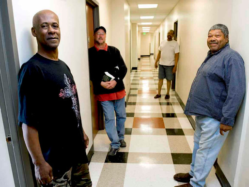Old hotel converted for homeless
