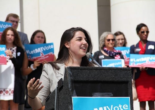 Political novices end a state gerrymander