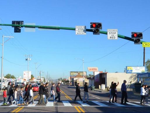No-wait crossing for pedestrians