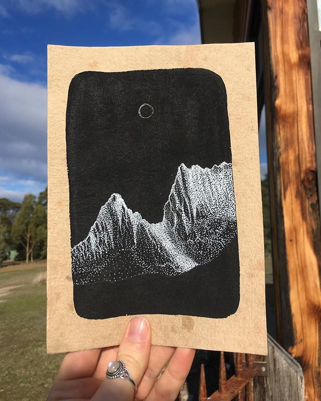 WIP Cradle Mountain (A5)