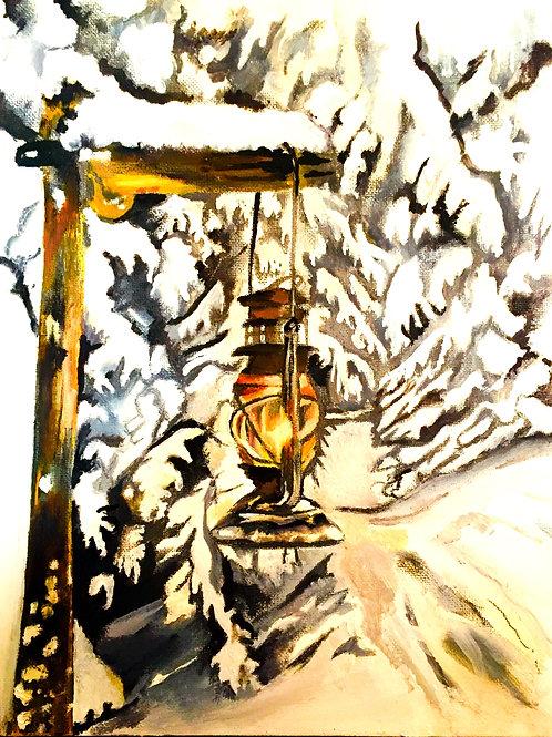 Snowy Lantern