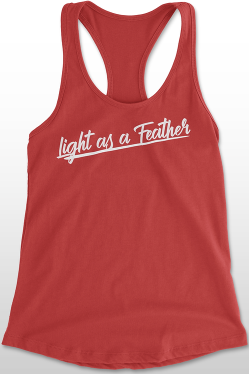 Light as a Feather Racer Back Tank