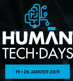 Ageona présent aux Human Tech Days le 24 Janvier 2019 à Tours #HTD2019