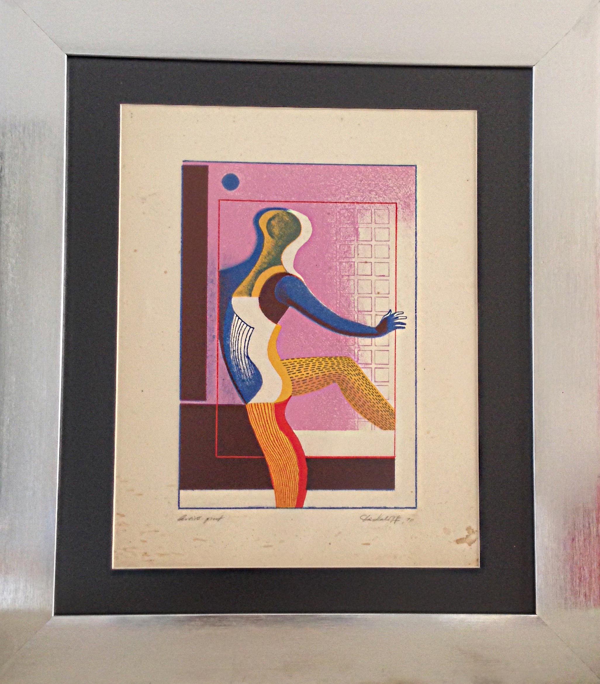 Gyorgy, La Bailarina (prueba de autor)