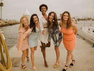Long Beach Best Friends Shoot