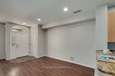 Dining room and front closet