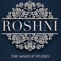 Roshni Makeup artist's Logo