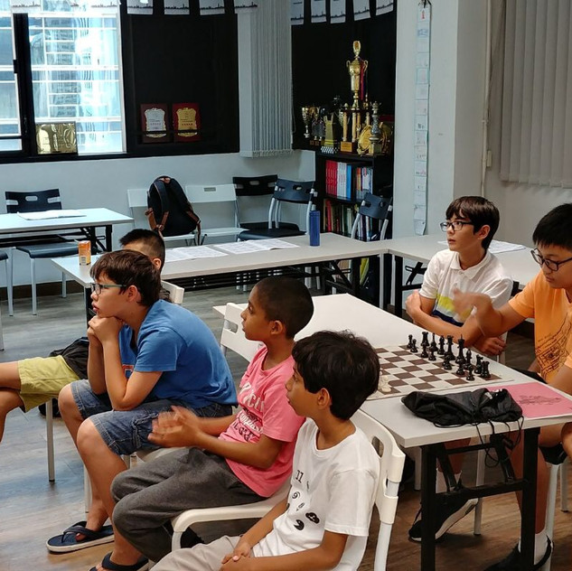 Summer Chess Camp 2017 - instruction