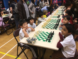 30 Caissa Students Participate in 7th Annual ISF Academy Tournament: Miguel Angel Champion Primary!
