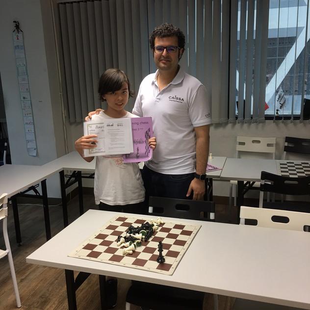 Chess Camp 2017 - Albin
