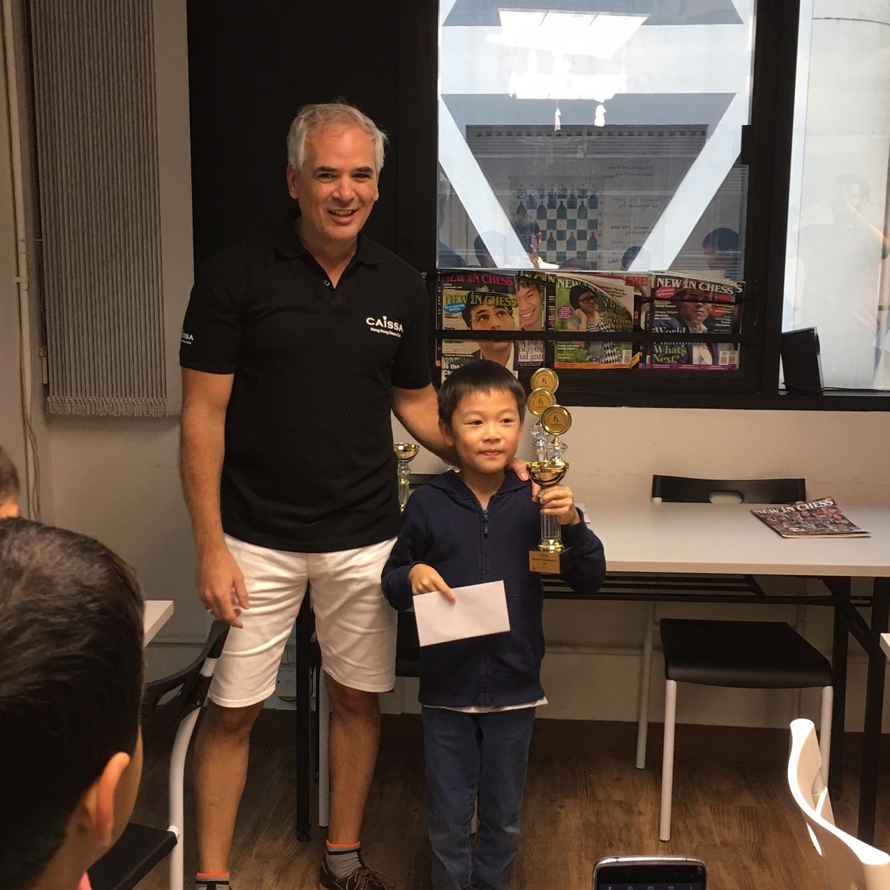 Samuel Lam 3rd Prize U8