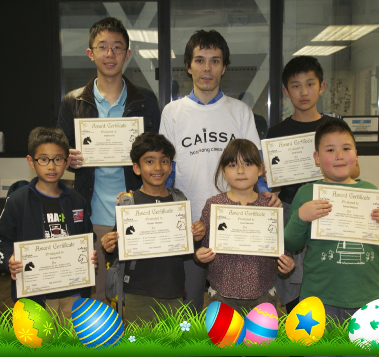 Easter Camp 2016 March 30 graduates