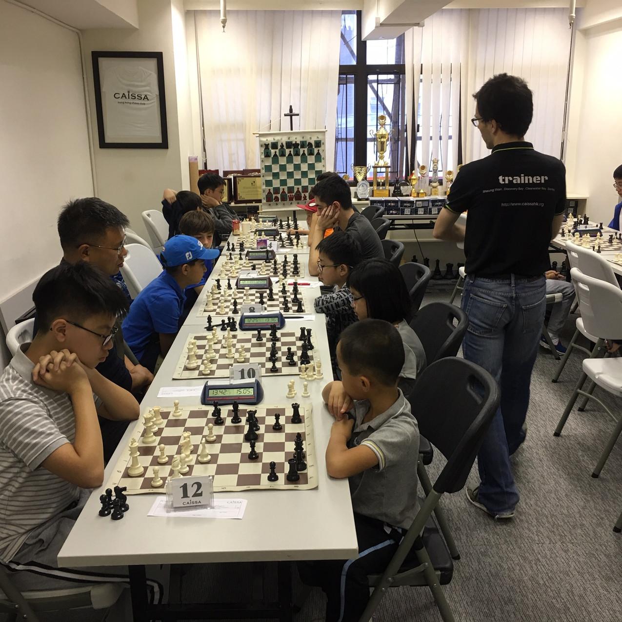 5th Autumn Open Standard chess Caissa Ho