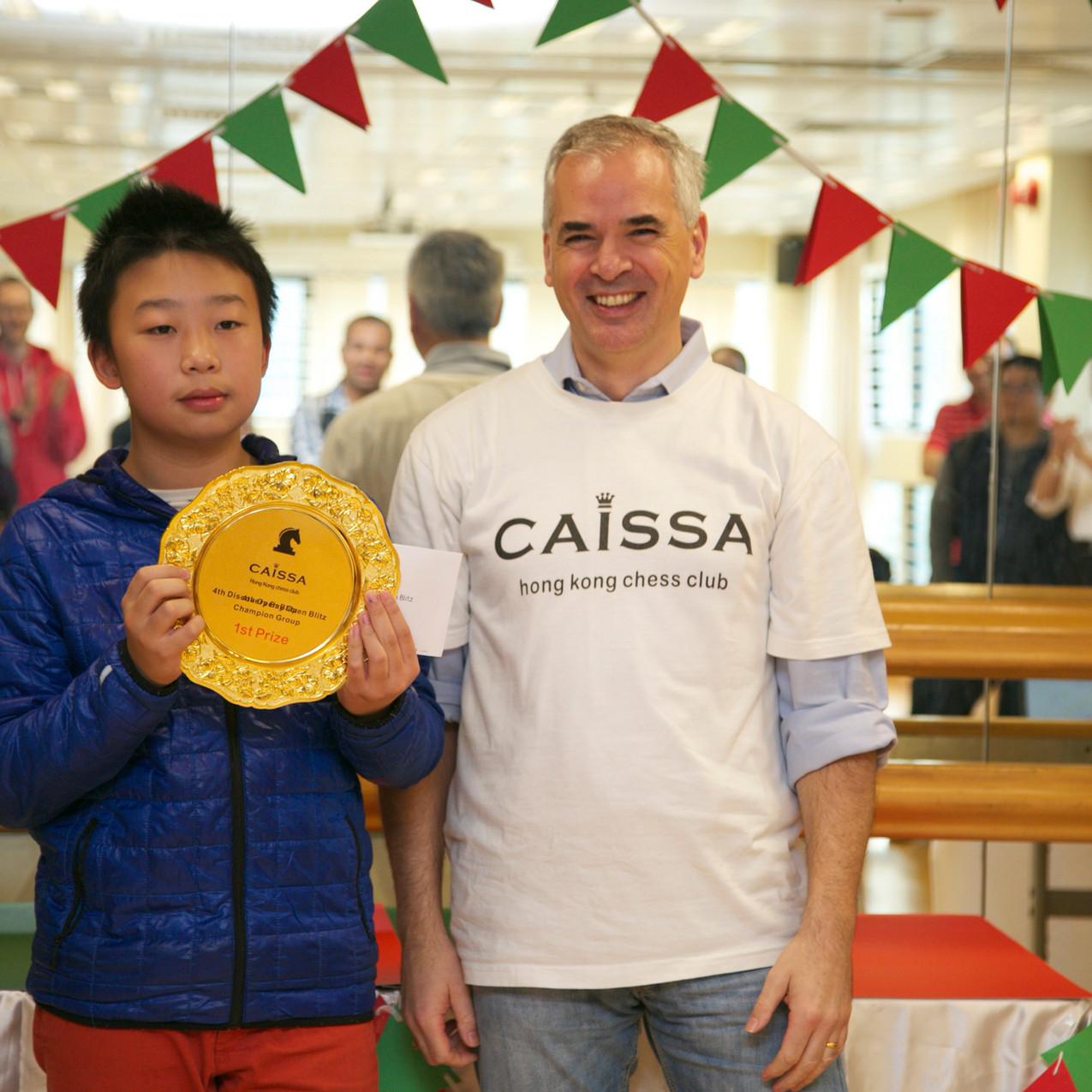 Shunkai Peng new Champion
