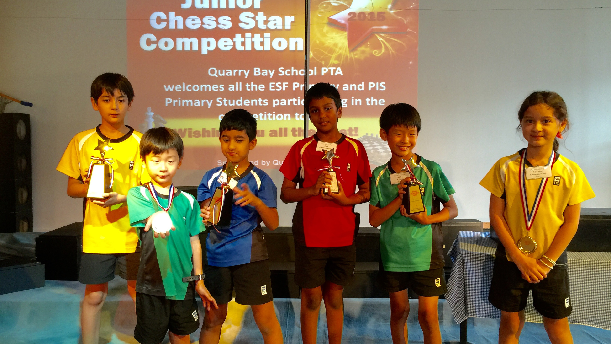 Discovery College Chess Players