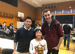 Caissa Students on top at ISF tournament!