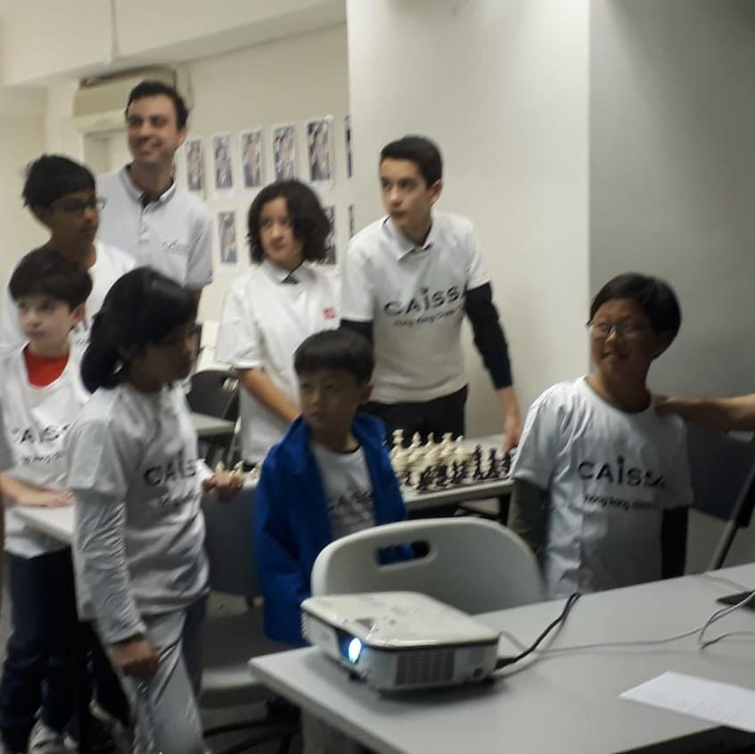 Caissa Team vs Aranco Chess Team