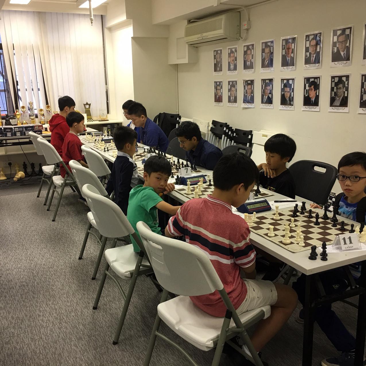 5th Autum Open Chess Caissa Hong Kong