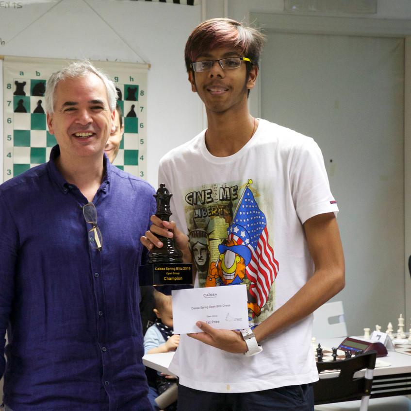 Tushar Champion Open