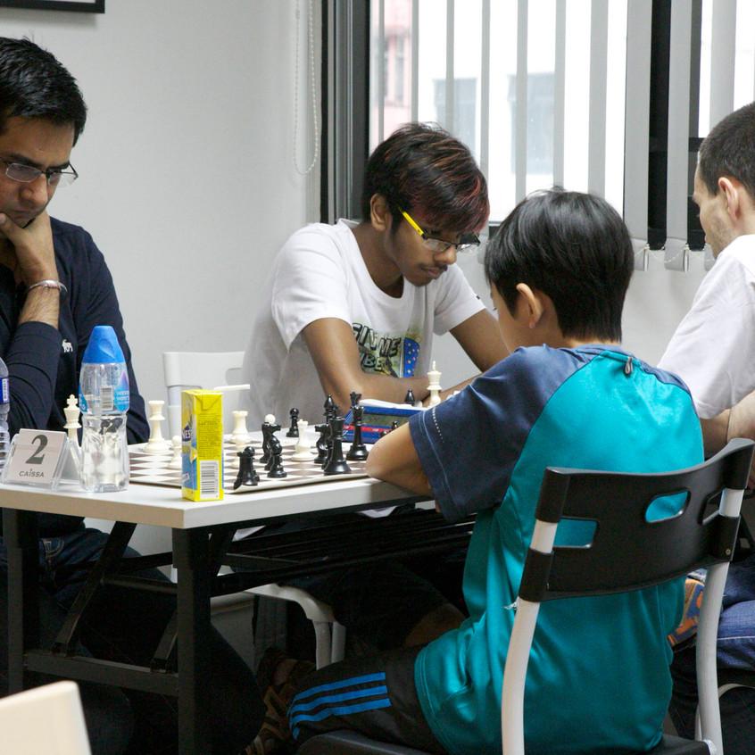Tushar vs. Alberto and Tejpal vs