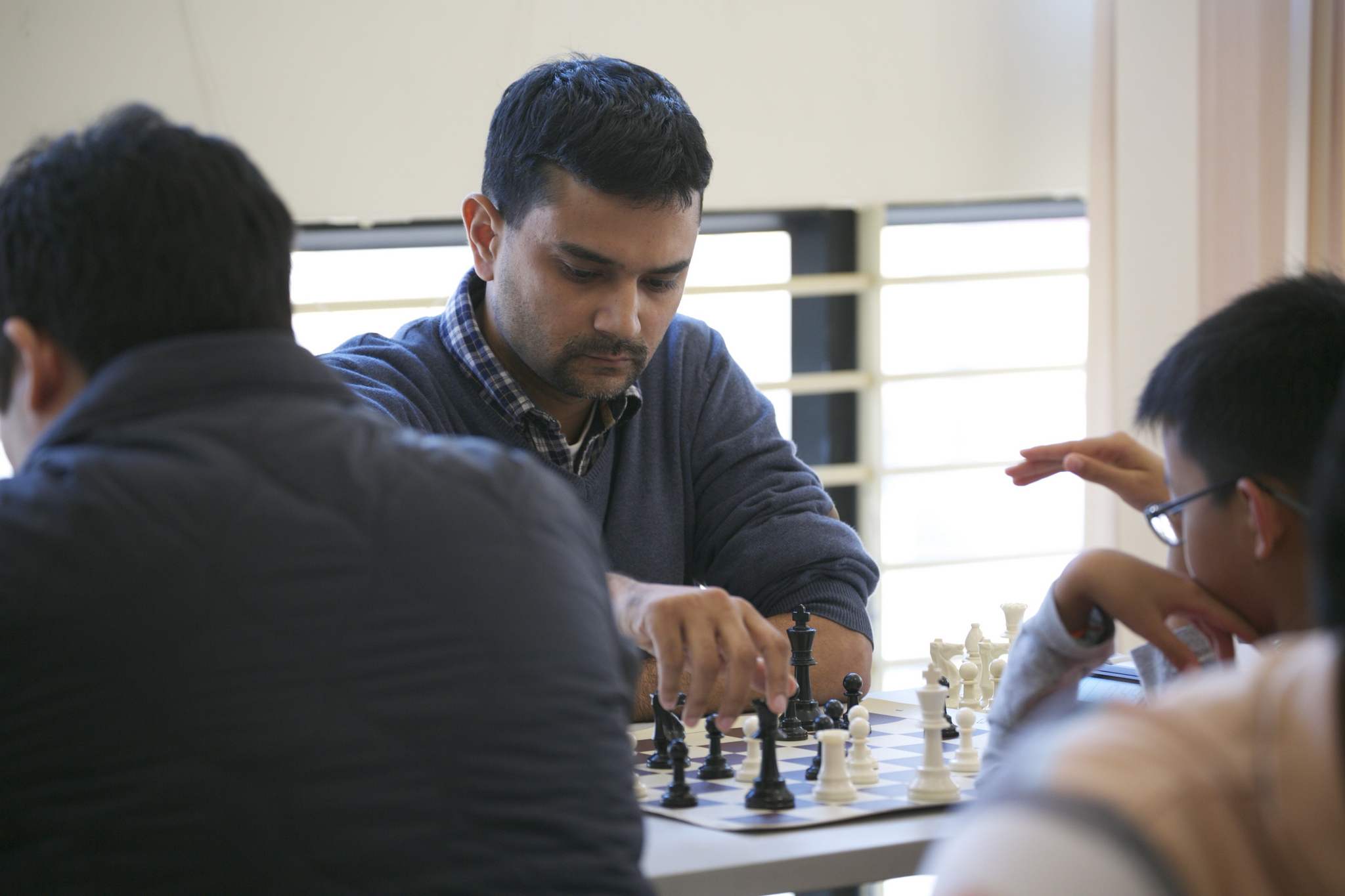 Qualifier Rounds - Pracheesh with black