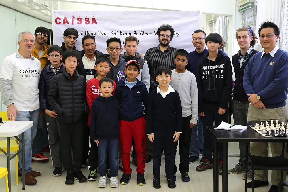 Hang Hau 1st Rapid Chess Open 2017 Players