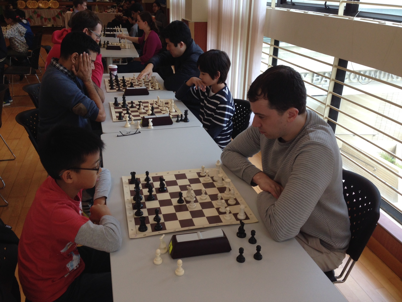 Qualifier Rounds - Nicholas vs Kevin