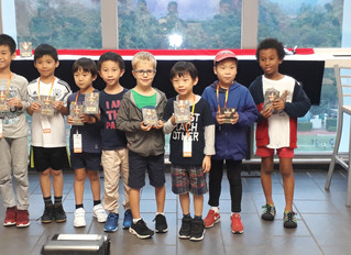Caissa Domination in U9 at HKJRCC
