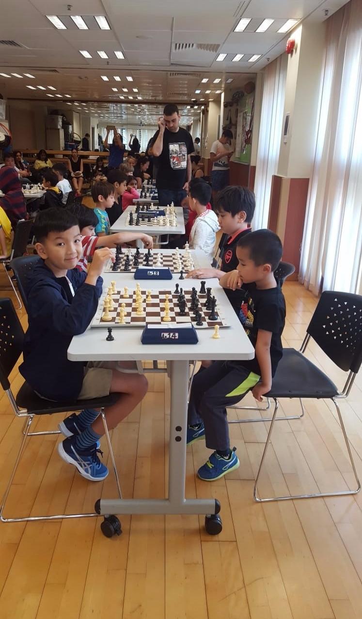 Caissa Hong Kong Chess Club EOM October