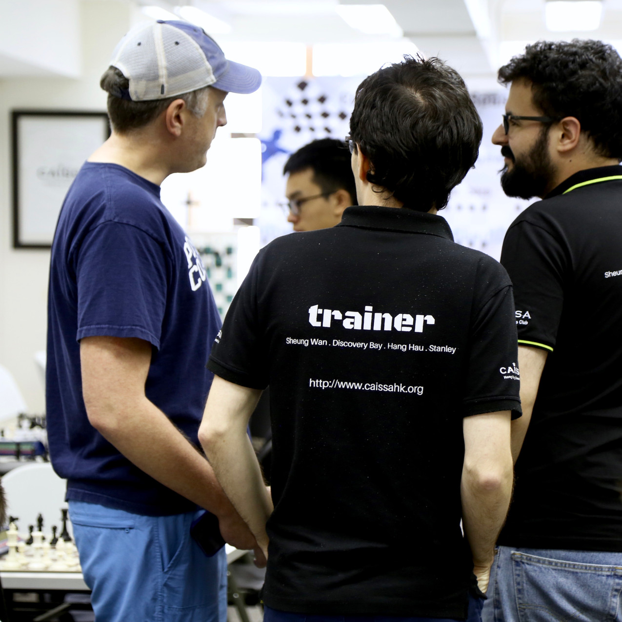 SOS 2018 Trainers Albero and David Caiss