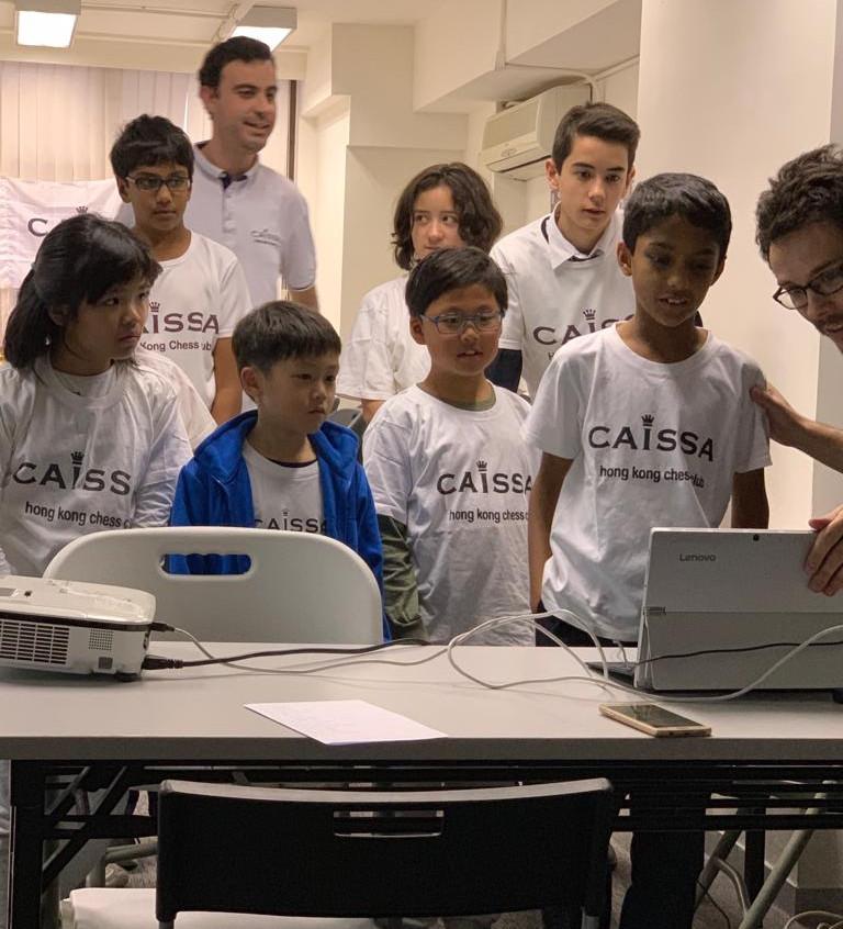 Caissa Team vs Aranco Chess