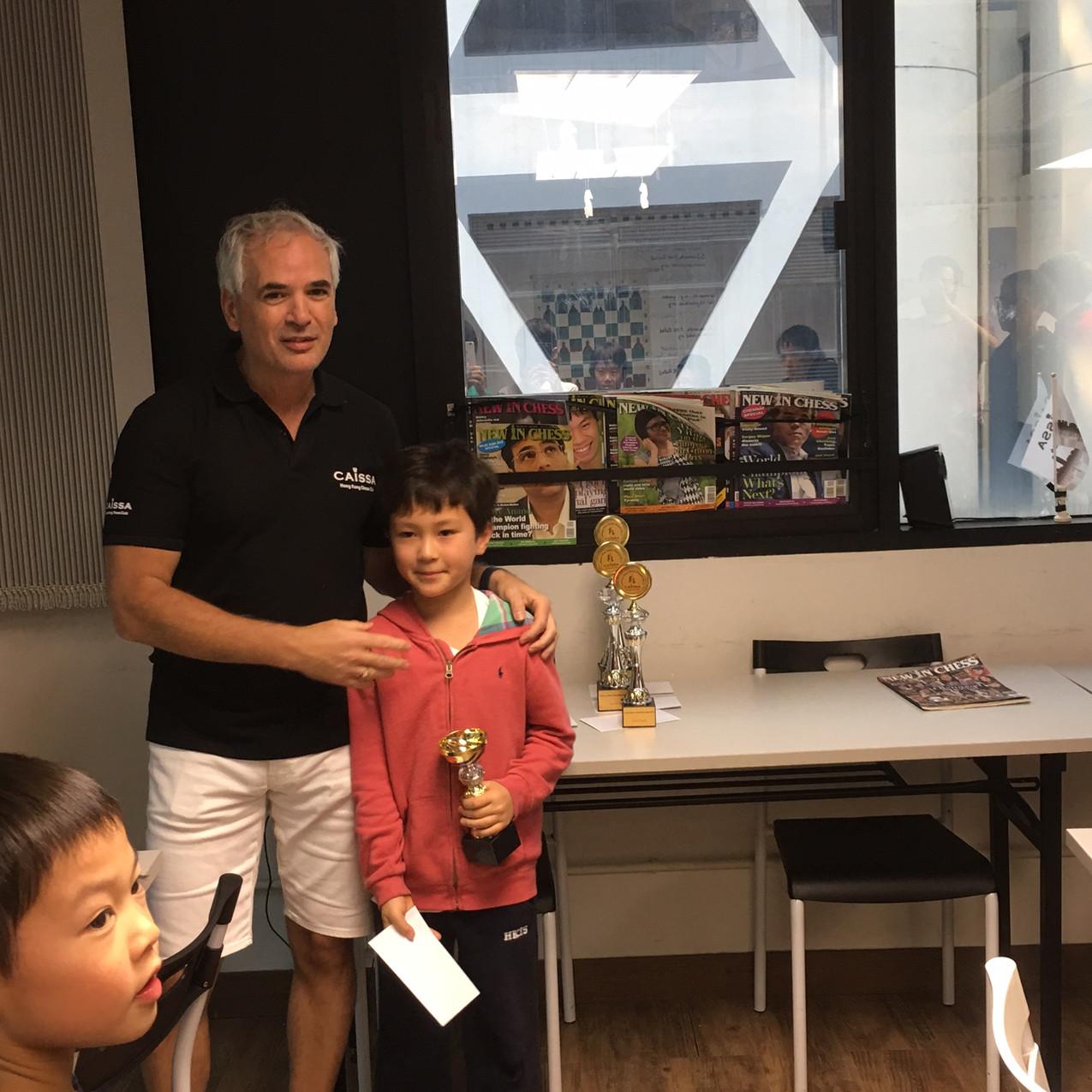 Oliver King 1st Prize U8