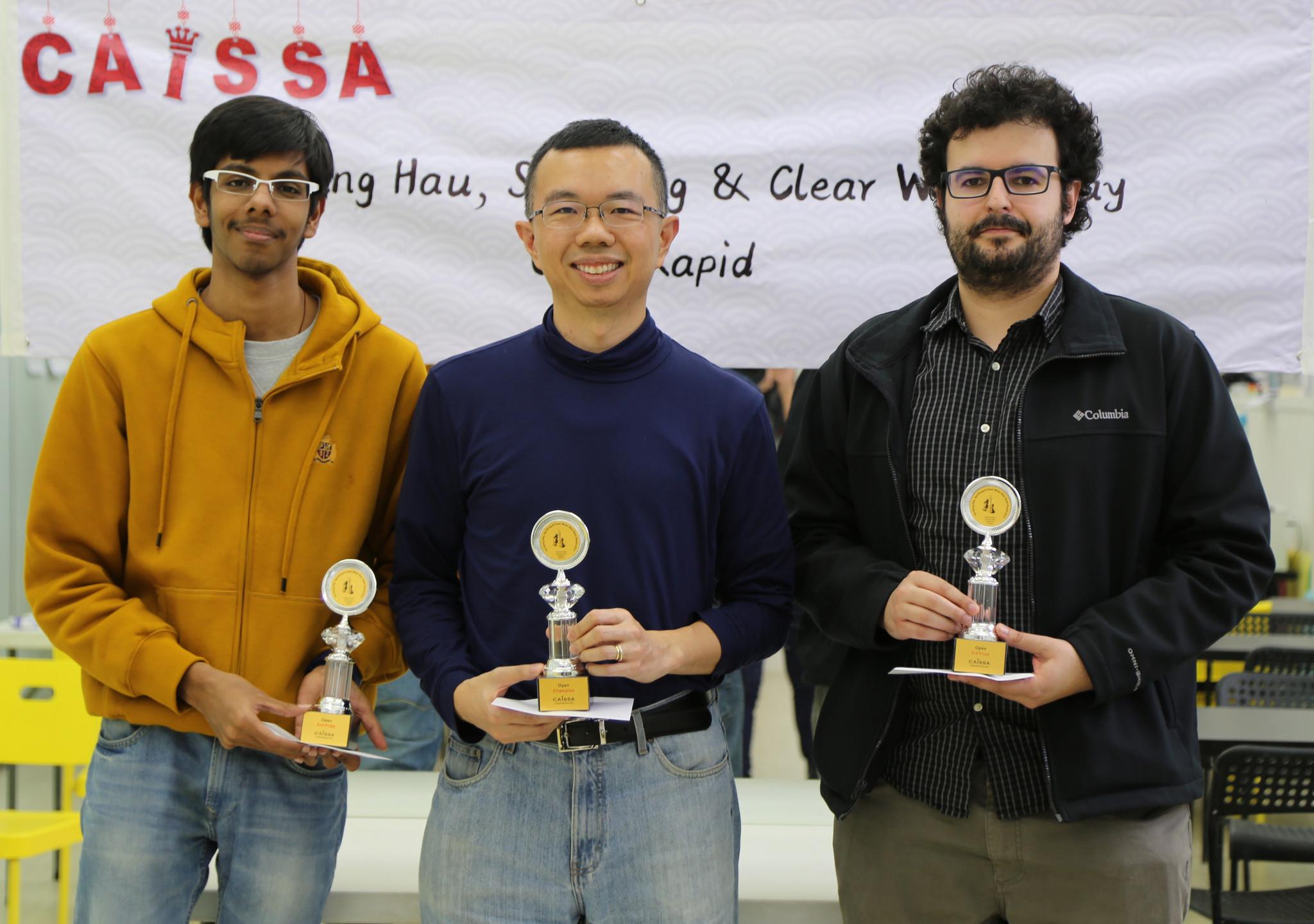 Prize Winners Open
