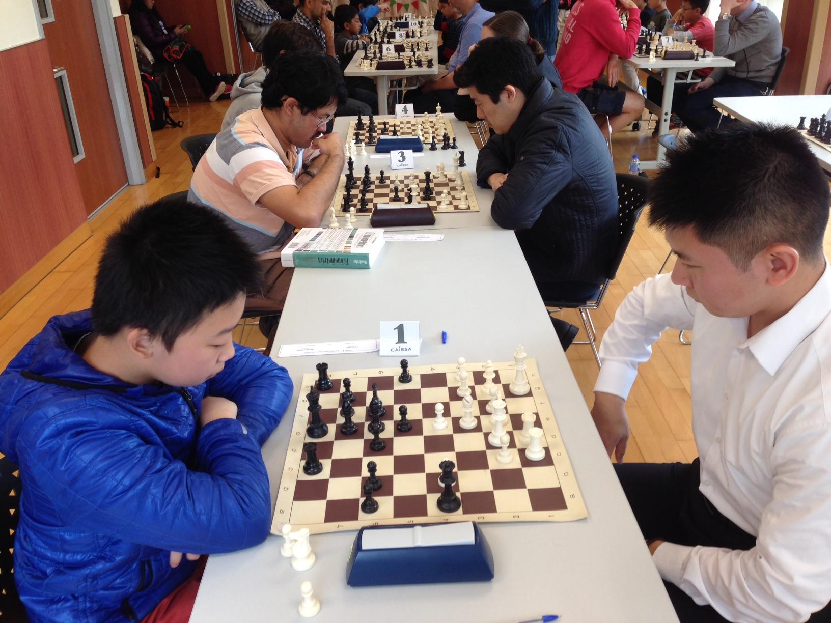 Qualifiers Rounds - Long vs. Shunkai