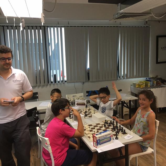 Summer Chess Camp 2017