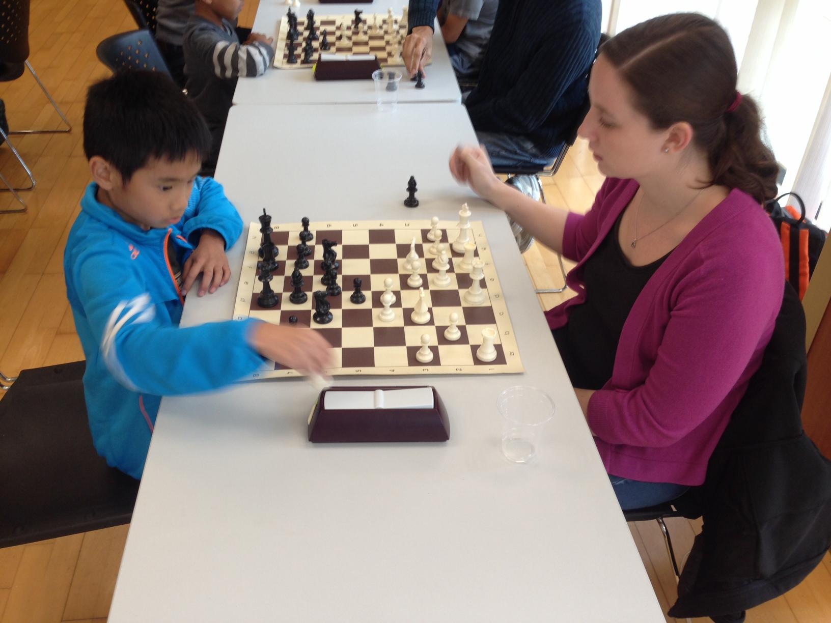 Qualifier Rounds - Hannah vs Samuel
