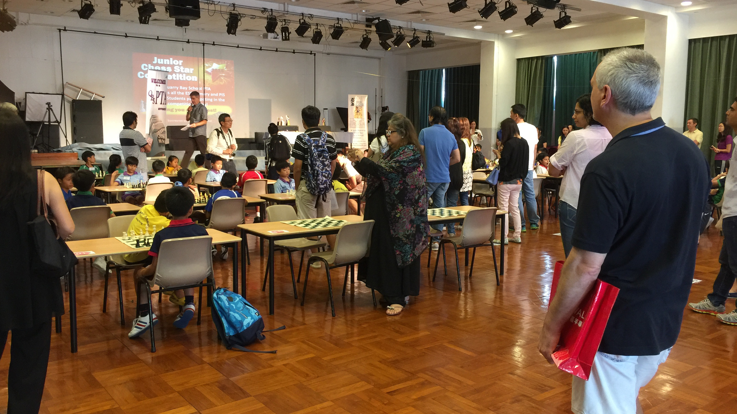 QBS 2015 Junior Star Playing Hall