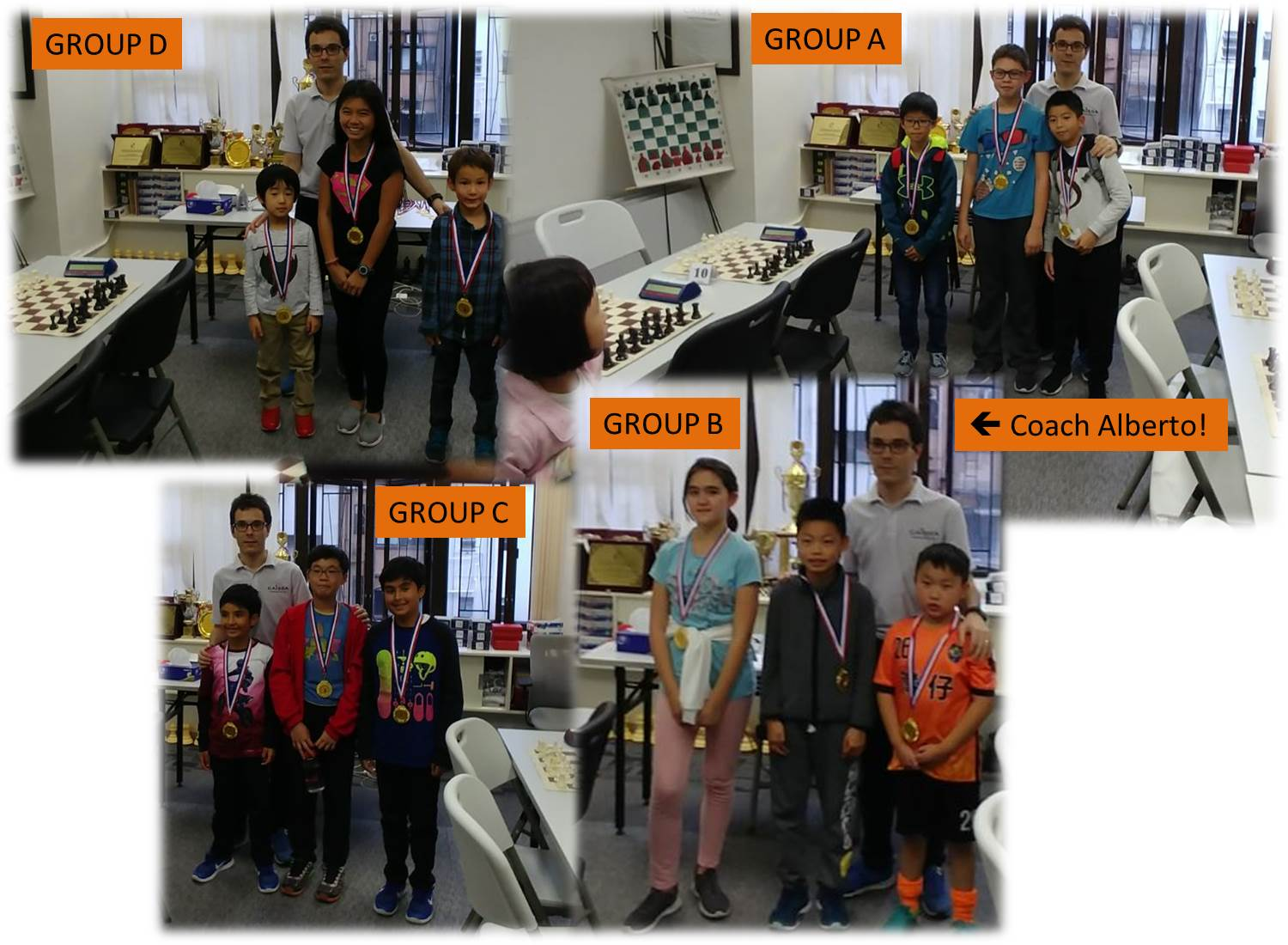 Prize Winners Caissa Chess EOM January 2018