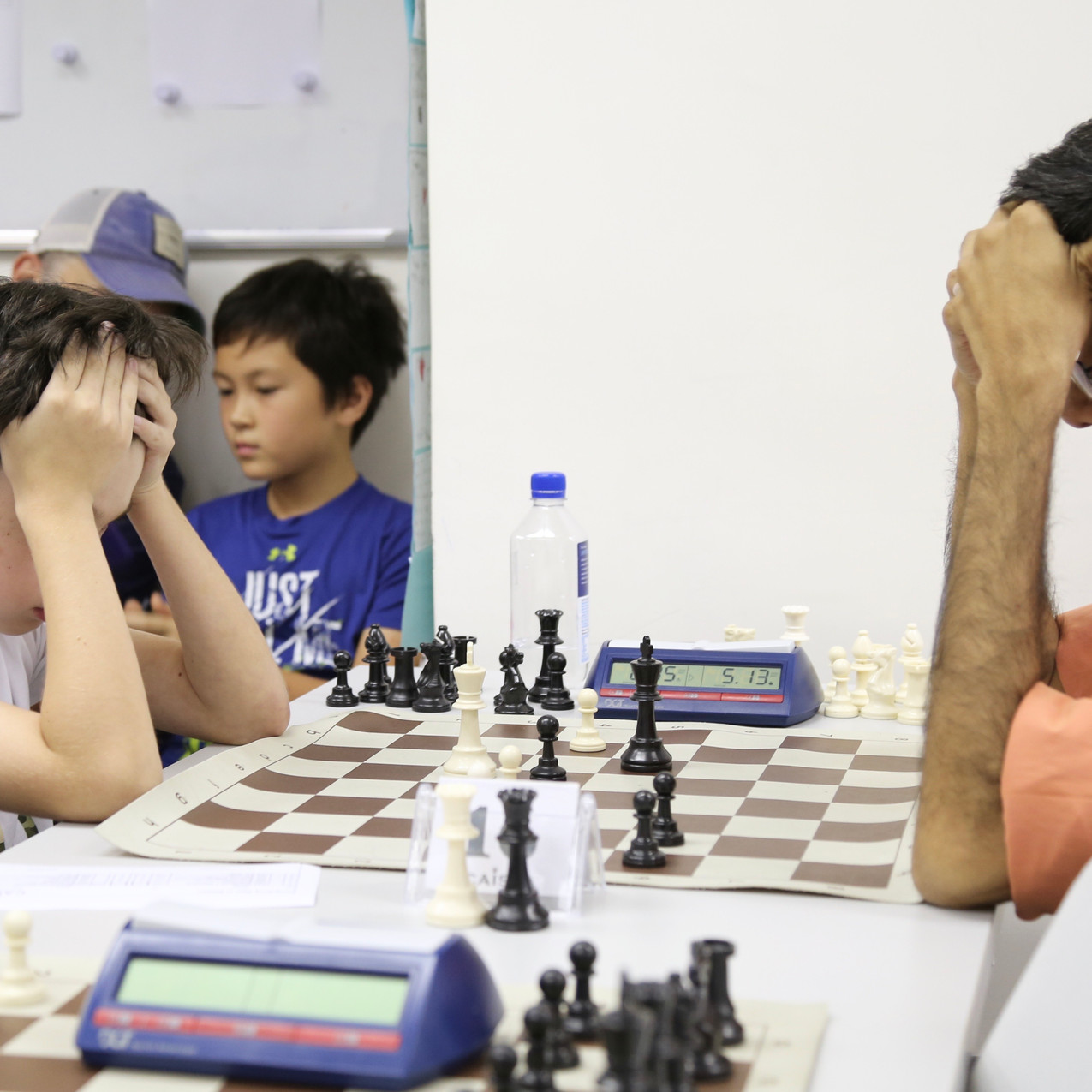 SOS 2018 Wilfred vs Aravind Caissa Chess
