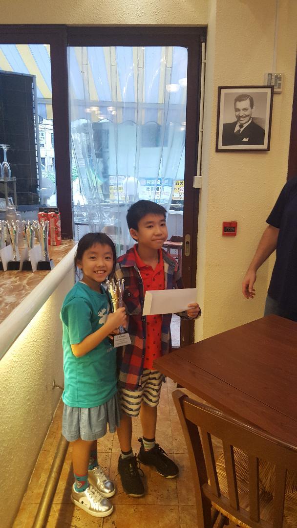 sos caissa 2019 boris wang and sister