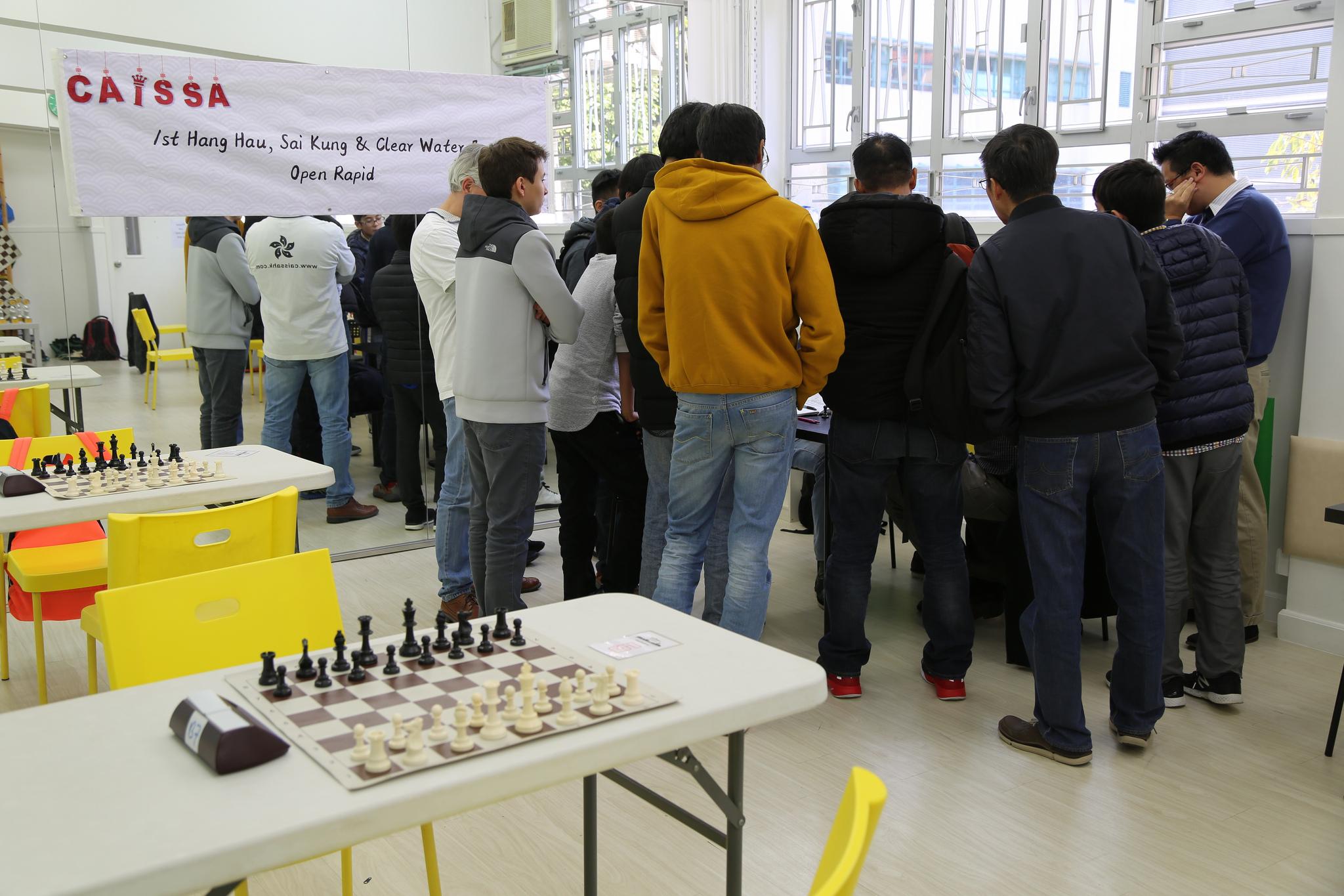 Hang Hau 1st Open Rapid Chess
