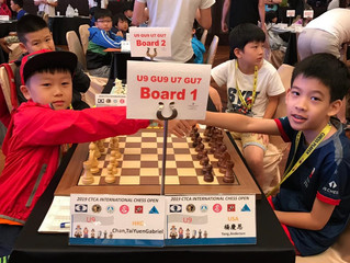 Caissa Players Shine in Taiwan CTCA 2019 - Days 6, 7 and 8