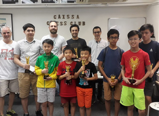 Ozbek Gorkem Conquers Caissa Open Spring 2019 Title in Last Round